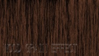 Photoshop Cs5 Wood Grain Effect Tutorial