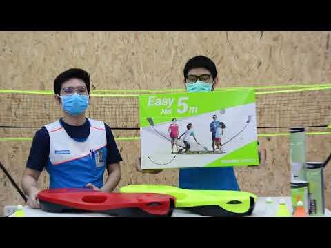 อยากตีแบด แต่เน็ตไม่มี!! มาลองเลือกดูได้ที่ดีแคทลอน #Decathlon #sports #Easynet #แบดมินตัน #ตีแบด