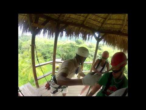 Punta Cana Zip Line Adventure 3/26/12