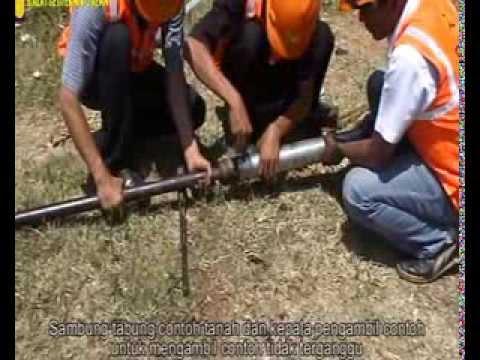 Metode Pemboran Tangan Mekanika Tanah Wesley Youtube