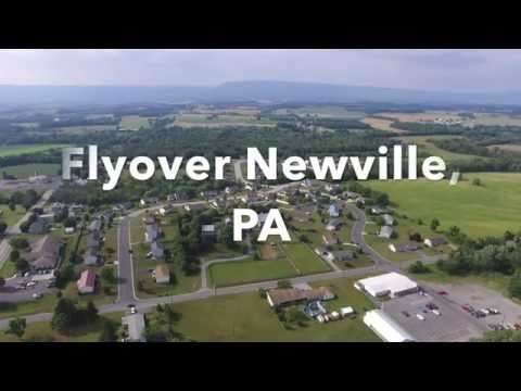 Flyover of Newville, PA