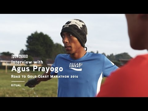 INTERVIEW: Agus Prayogo | Ritual | Road to Gold Coast Marathon 2016