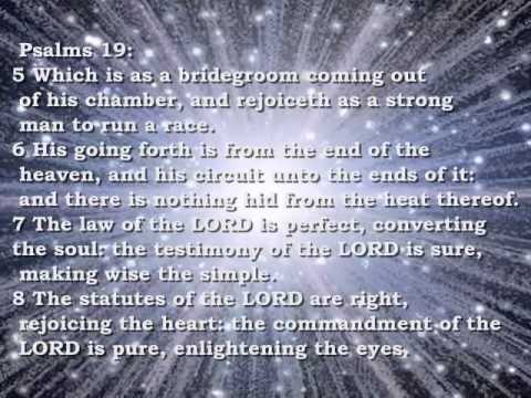 Bible Reading Psalms 19
