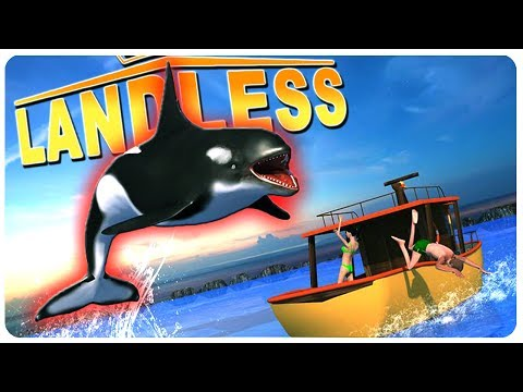 GIANT Orca Whale Hunting + Baby Stealing Sharks?! | Landless Gameplay (Update)