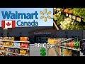WALMART CANADA (VLOG) Shopping in Walmart Canada PRICES
