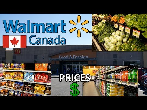 WALMART CANADA (VLOG) Shopping In Walmart Canada PRICES