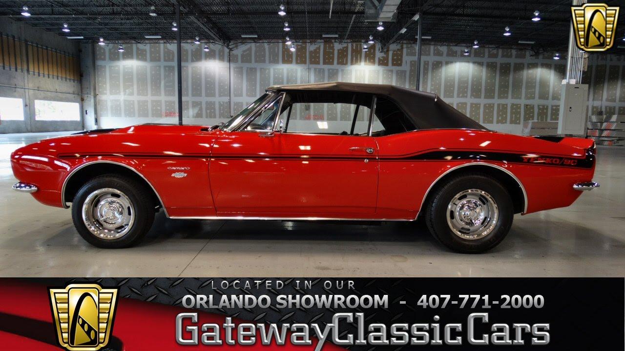 1967 Chevrolet Camaro Convertible Gateway Classic Cars
