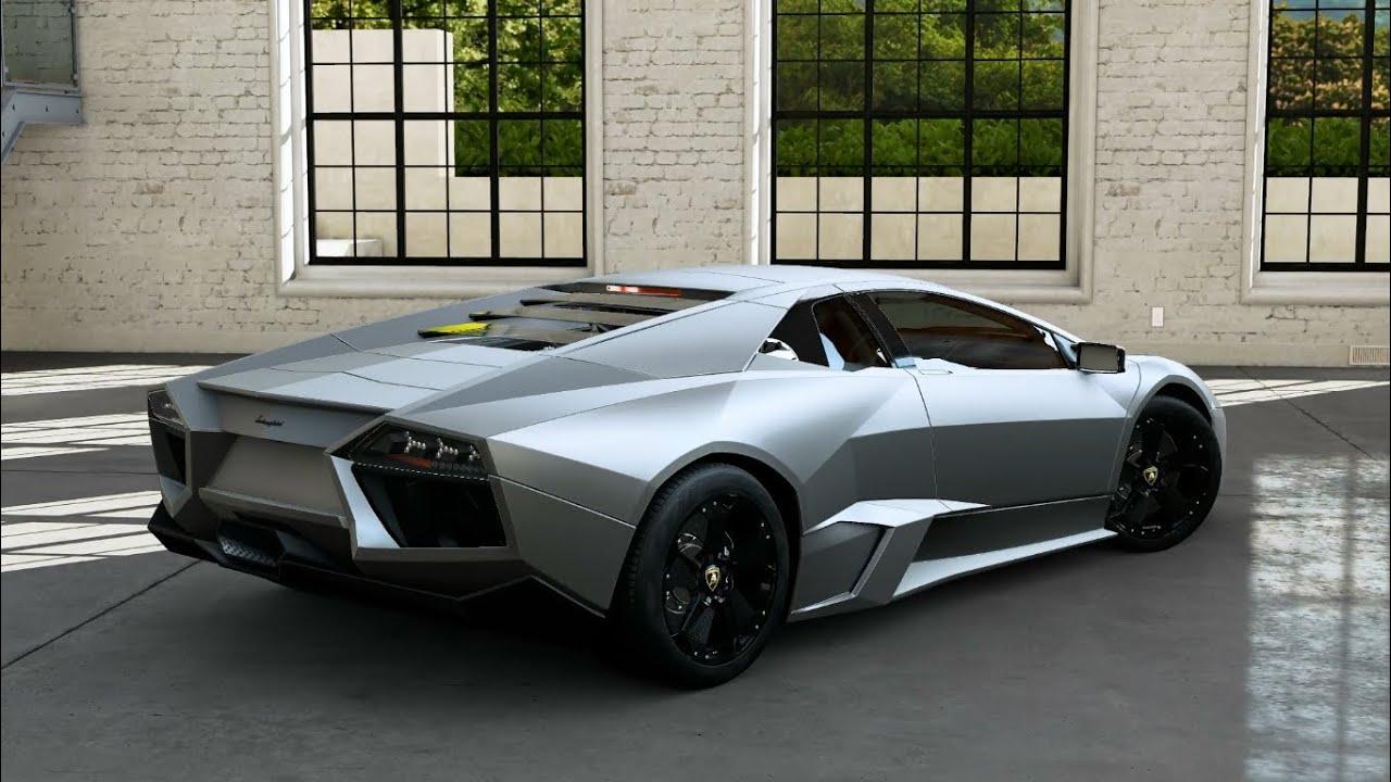 Beautiful Forza Motorsport 5   2008 Lamborghini Reventon   YouTube