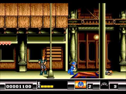 Batman [Megadrive] - Gotham City Streets (Megaman X1 Arrange)
