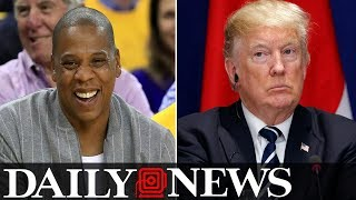 Jay Z Says He Has Nothing But Disrespect For President Trump