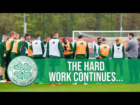 Putting in the hard work ahead of Celtic v Kilmarnock!