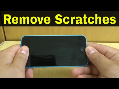How To Remove Scratches From An iPhone Screen-Easy Tutorial