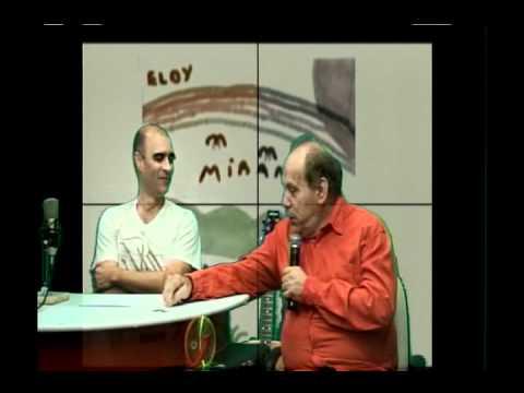 Eloy Miranda recebe prêmio ao vivo de Petrúcio Mello na Tv Orkut