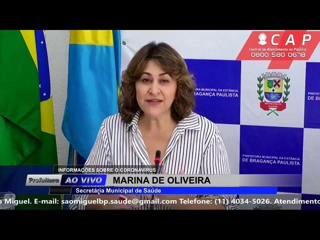 Balanço do Coronavírus dia 30/04 em Bragança Paulista