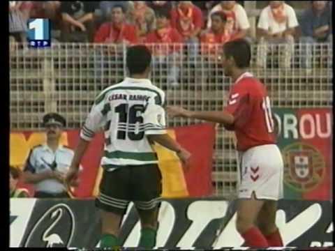 06J :: Sporting - 2 x Salgueiros - 1 de 1997/1998