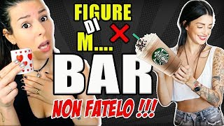 COSA NON FARE AL BAR ❌FIGURE DI M....  #101