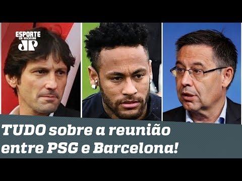 Agora vai, Neymar? Saiba como foi a ÚLTIMA reunião entre PSG e Barcelona!