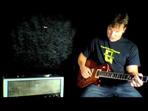 prs ted mccarty sc 245 rw wood library with dr z z wreck youtube. Black Bedroom Furniture Sets. Home Design Ideas