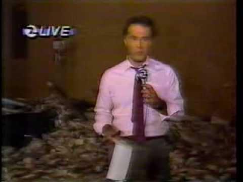 Whittier Narrows Earthquake - Oct. 1, 1987 - KPIX (CBS, San Francisco)