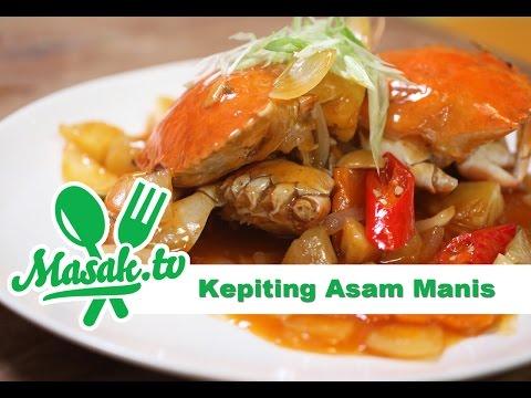 Resep Kepiting Asam...