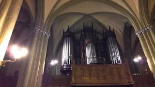 2.video.Jāzepam Vītolam - 150. Kamerkoris Muklājs vecajā Svētās Ģertrūdes baznīcā.09.1.2013.