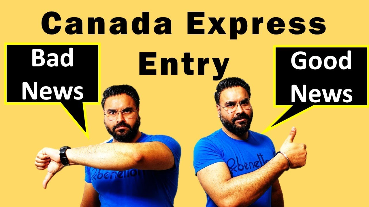 Good News Or Bad News | CANADA Express Entry Draw | Immigration Update | Canada Couple