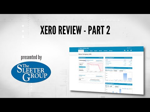 Xero Accounting Software Review / Tutorial - Part 2