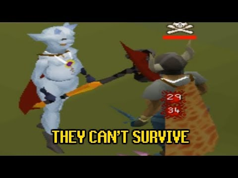 SNOW IMP PKER TEARING UP PVP WORLDS - [OSRS]