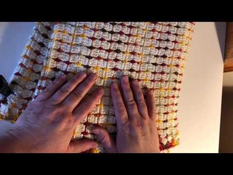 Crochet Fireside Throw Blanket