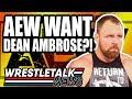 Original Enzo & Big Cass Roh Plans Revealed Aew Want Dean Ambrose? Wrestletalk News Apr 2019