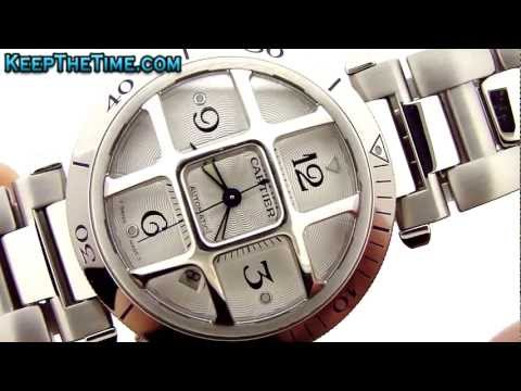 Cartier Pasha Grille Grid Unisex Watch 2379 HD Video Review