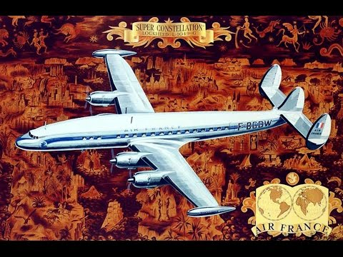 """Classic Airliners - """"Vintage Airline Travel Posters"""""""