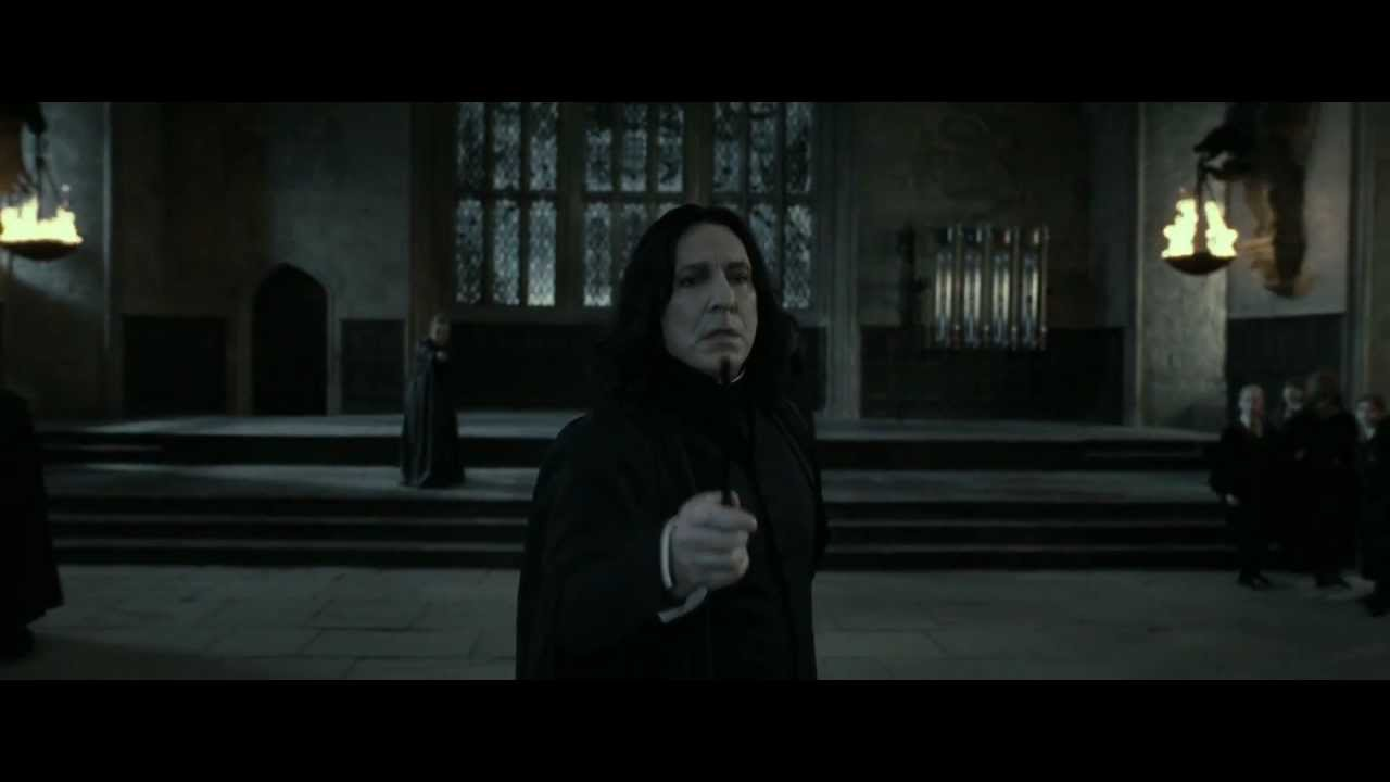 A moment of brilliance by Snape that I did not realize at
