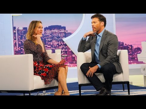 Renée Zellweger Teaches Harry Tips To A Good British Accent
