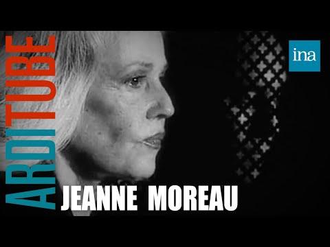 Les confessions de Jeanne Moreau chez Thierry Ardisson | Archive INA