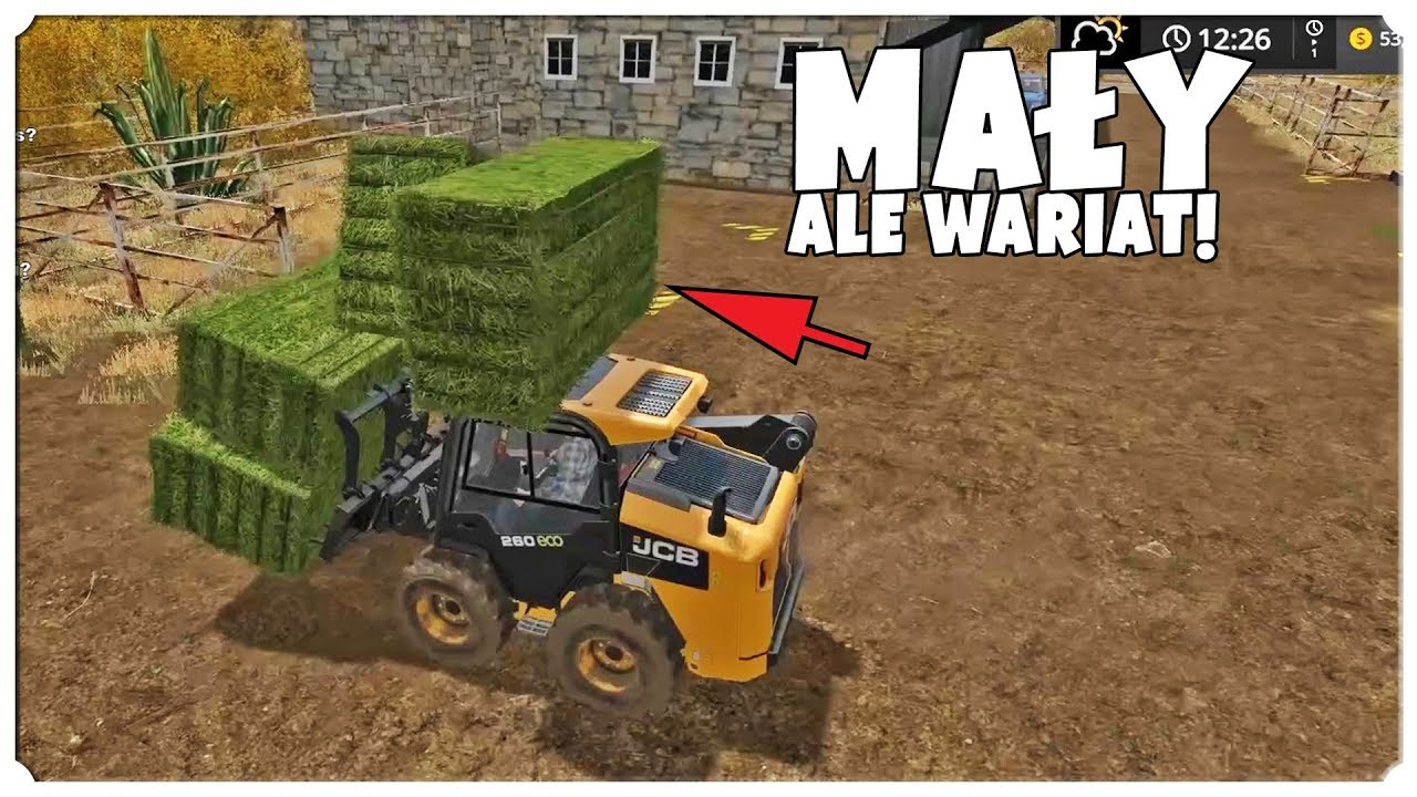 FARMING SIMULATOR 17 – MAŁY ALE WARIAT!
