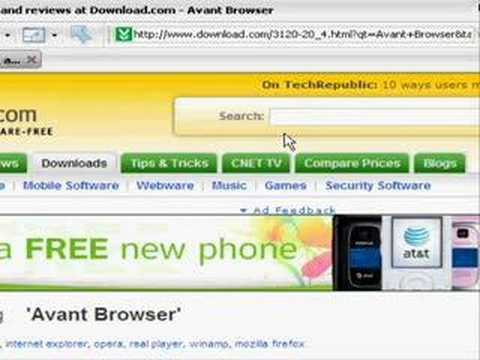 How To Get Avant Browser