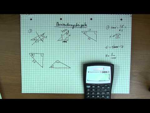 trigonometrie hammeraufgabe 2 unbekannte h he berech. Black Bedroom Furniture Sets. Home Design Ideas