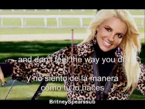 Britney Spears Let me be subtitulos español ingles