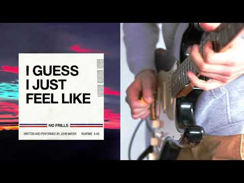 💥🎸10 Min Jamming Solo Guitar Backing Track From I Guess I Just Feel Like By John Mayer