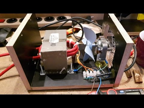 Diy Spot Welder With Foot Pedal Youtube