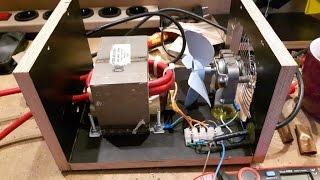 DIY spot welder with foot pedal