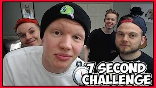 7 Second Challenge - Major Fails w/iBallisticSquid, AshDubh, TheJMC