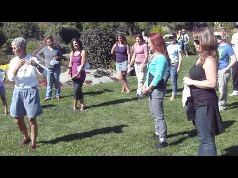 Wedding Proposal into Zumba Flash Mob at Mendocino Botanical Gardens
