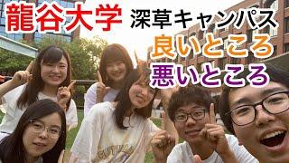 【深草キャンパス】龍谷大学の良いところ悪いところ聞いてみた!!