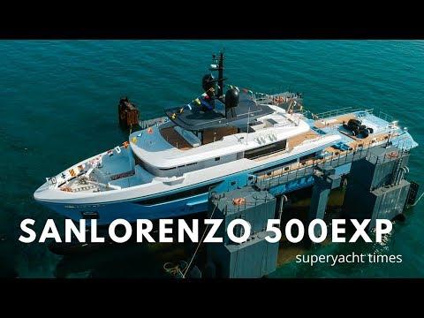 Sanlorenzo Launches  500EXP EXPLORER SUPERYACHT