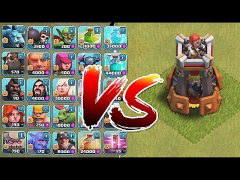 Thumbnail: Clash Of Clans - BOMB TOWER!! Vs. ALL TROOPS!! (New Defense update)