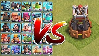 Clash Of Clans - BOMB TOWER!! Vs. ALL TROOPS!! (New Defense update)