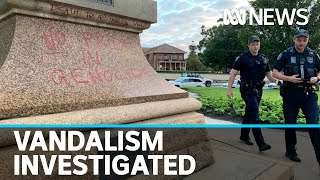 Statue of Adelaide founder Colonel William Light vandalised | ABC News