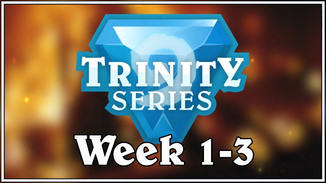 Funny And Lucky Moments Trinity Series Edition Week 1 3 Youtube